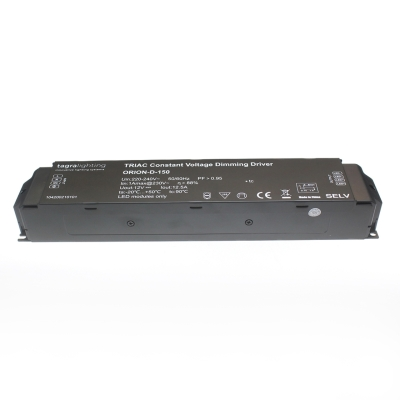 Tagra Orion 12V IP20 150 Watt Dimmable LED Driver