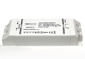 Tagra Orion Series 75 Watt 24V Dimmable LED Driver