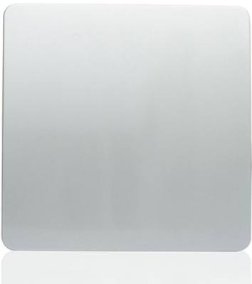 Trendi Banking Plate in Silver