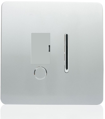 Trendi Fused Spur Switch Outlet in Silver