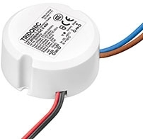 Tridonic ADVANCED Round Series 24W LC Compact Fixed Output LED Driver 600mA fixC R ADV