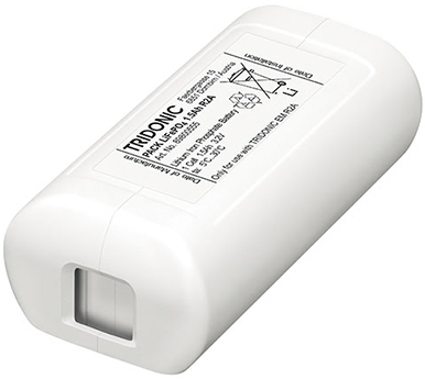 Tridonic Emergency Battery Pack 3.0Ah (2 Cells) 1.2V LiFePO4 (For ready2apply Units)