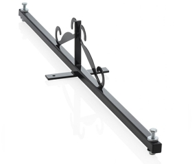 Twin Sign Light Bracket for 2 Small LED Floodlights (Up to 1kg Each)