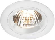 Universal White Fixed Twist & Lock Downlight (GU10/MR16)