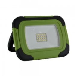 V-Tac 10w IP44 Rechargeable LED Floodlight Daylight (70 Watt Alternative - 2 Year Warranty)
