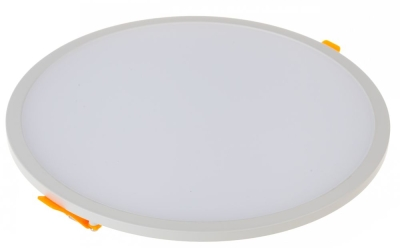 V-Tac 29W 220mm Round Trimless LED Panel Cool White