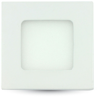 V-Tac 3W 84x84mm Square LED Panel Cool White
