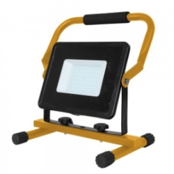 V-Tac 50W LED SMD Floodlight with Black and Yellow Frame Daylight