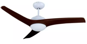 """V-Tac 52"""" Brown Ceiling Fan with Remote Control"""