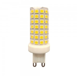 V-Tac 6W Non-Dimmable G9 Plastic LED Capsule Spotlight 3000K Warm White (45W Equivalent)