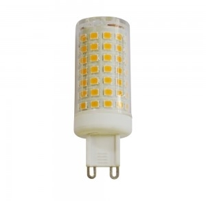 V-Tac 7W Non-Dimmable G9 Plastic LED Capsule Spotlight 3000K Warm White (50W Equivalent)