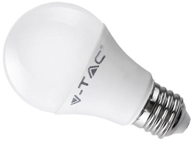 V-Tac 9W A60 Cool White LED 3 Step Dimming Bulb