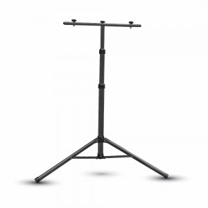 V-Tac Extendable Black Aluminium Tripod Stand for 10w to 50w Floodlights (940-1800mm)