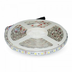 V-Tac IP65 (Indoor & Outdoor Use) 1m LED Strip Daylight High Output 10.8 Watts per Metre