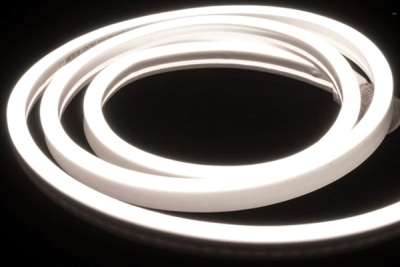 V-Tac IP65 (Indoor & Outdoor Use) 5m LED Neon Flex Cool White (Complete Kit inc. Driver) 8 Watts