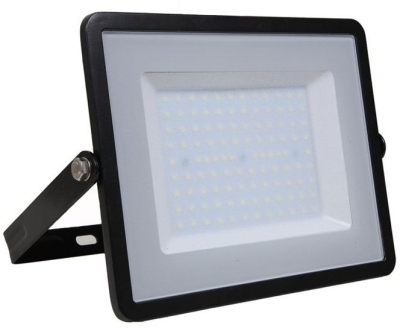 V-Tac Slimline LED Floodlight 100w Warm White (800 Watt Alternative - 5 Year Warranty)