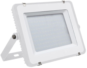 V-Tac Slimline LED Floodlight 150w Warm White (1200 Watt Alternative - White Finished)