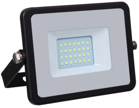 V-Tac Slimline LED Floodlight 20w Warm White (160 Watt Alternative)