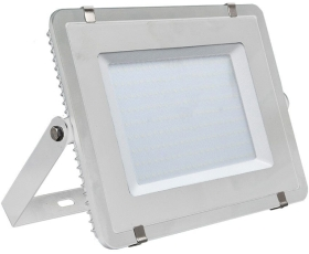 V-Tac Slimline LED Floodlight 300w Daylight (2400 Watt Alternative - White Finished)