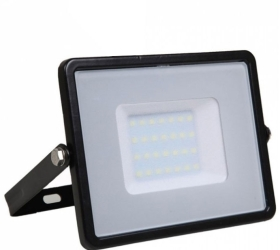 V-Tac Slimline LED Floodlight 30w Warm White (240 Watt Alternative - 5 Year Warranty)