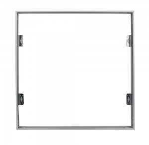V-Tac White Aluminium Frame for 600x600mm Panel with Screws Fixed