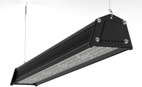 Venture 140W IP65 VRack Linear High bay LED Lights 40 x 130 Beam Angle Industrial Lighting American