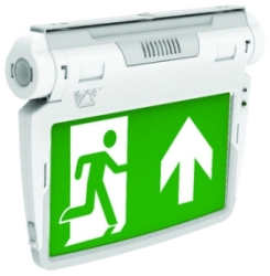 Venture 3W IP20 LED Emergency 6 in 1 Exit Sign - KIT Including all Accessories