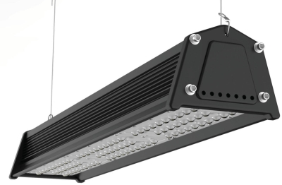 Venture 83W IP65 VRack Linear High bay LED Lights 120 Beam Industrial Lighting American Daylight