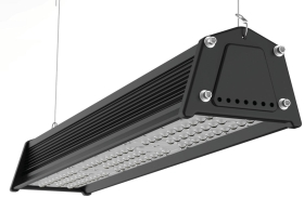 Venture 83W IP65 VRack Linear High bay LED Lights 40 x 130 Beam Angle Industrial Lighting American D