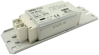 This is a ballast designed to run 30W lamps which is part of our control gear range