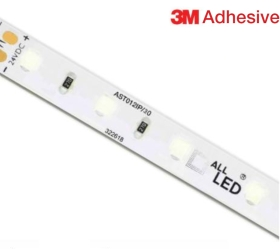 Water Resistant 30m ALL LED 12W/m LED Strip 24V Dimmable Cool White