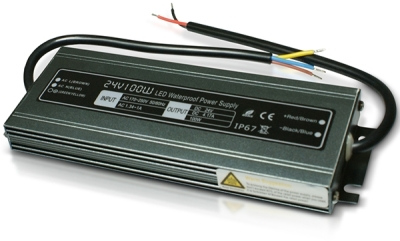 Xalo 100W 24V Sealed Case Waterproof Power Supply (4.16A)