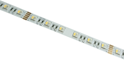 XaloLED 5M High Brightness 19.2W Dimmable 24V Warm White + Colour Changing Nano IP65 LED Strip