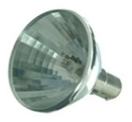 This is a 50W 15mm Ba15d/SBC Reflector/Spotlight bulb that produces a White (835) light which can be used in domestic and commercial applications