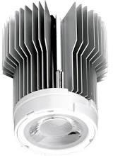 This is a 15 W bulb that produces a Warm White (830) light which can be used in domestic and commercial applications