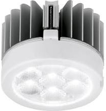 This is a 8.5 W bulb that produces a Warm White (830) light which can be used in domestic and commercial applications