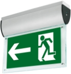 This is a Aurora LED Ceiling Mounted Emergency Exit Signs