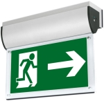This is a Aurora LED Wall Mounted Emergency Exit Signs