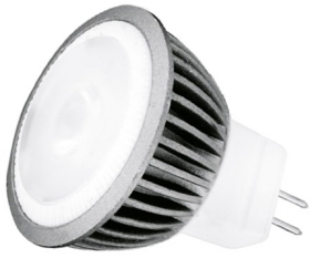 This is a 3 W GU4/GZ4 Reflector/Spotlight bulb that produces a Cool White (840) light which can be used in domestic and commercial applications