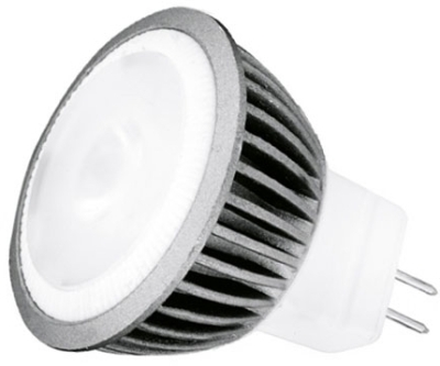 This is a 3 W GU4/GZ4 Reflector/Spotlight bulb that produces a Warm White (830) light which can be used in domestic and commercial applications