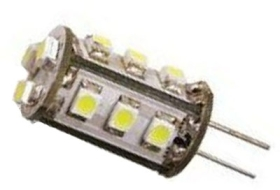 This is a 1 W G4 (4mm Apart) Capsule bulb that produces a Warm White (830) light which can be used in domestic and commercial applications