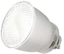 This is a 11 W GU10 Reflector/Spotlight bulb that produces a Warm White (830) light which can be used in domestic and commercial applications