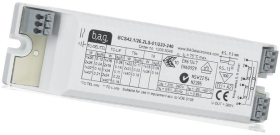 This is a High Frequency (Standard) ballast designed to run 38 W lamps which is part of our control gear range produced by BAG Electronics