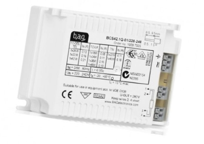 This is a High Frequency (Standard) ballast designed to run 55 W lamps which is part of our control gear range produced by BAG Electronics