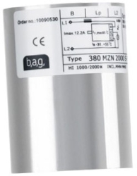 This is a  ballast designed to run 2000 W lamps which is part of our control gear range produced by BAG Electronics