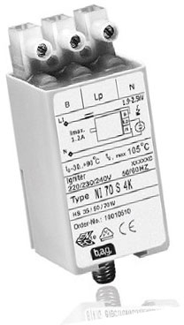 This is a ballast designed to run 70-400W lamps which is part of our control gear range produced by BAG Electronics