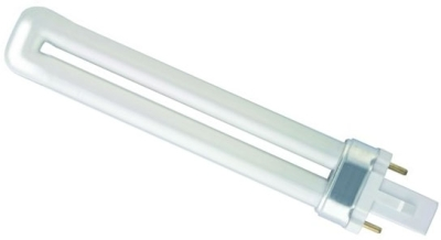 This is a 9 W G23 Multi Tube bulb that produces a Cool White (840) light which can be used in domestic and commercial applications