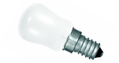 This is a 15 W 14mm SES/E14 Pygmy bulb that produces a White (835) light which can be used in domestic and commercial applications