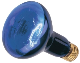 This is a 75W 26-27mm ES/E27 Reflector/Spotlight bulb that produces a Blacklight 350 light which can be used in domestic and commercial applications