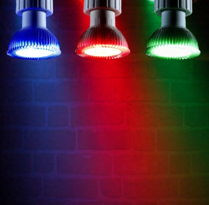 5 Great Uses For Coloured Lightbulbs